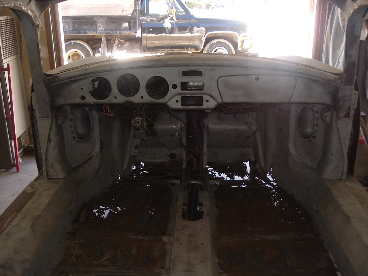 Rotted Porsche 356 Floors